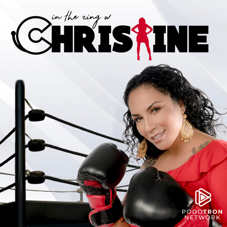 in the ring with Christine-Show Card_pn